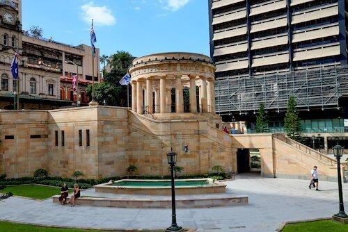 Anzac Square & Memorial Galleries